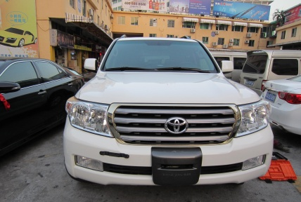 Решетка радиатора, TOYOTA LAND CRUISER 200, 2008-2012