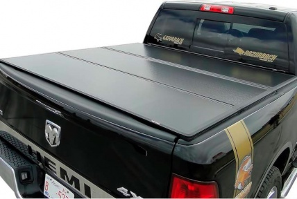 "Крышка кузова Rugged Cover®, 3 секции, алюминий, 5.5"", DODGE RAM 1500, 2009-2019"